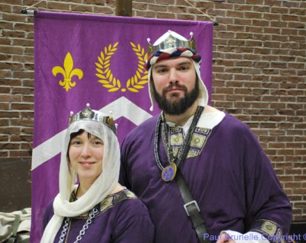 VIVAT to our new Baron and Baroness!